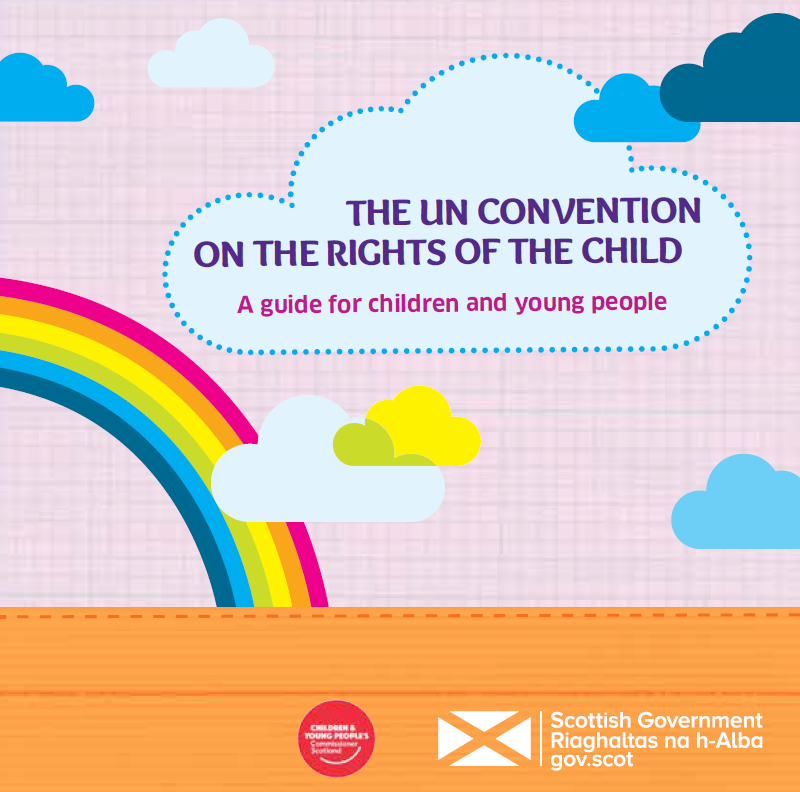 UN Convention on the Rights of the Child booklet cover