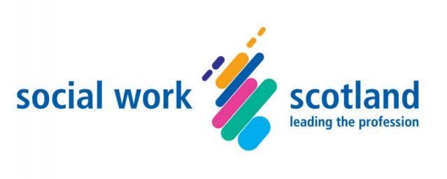 Social Work Scotland logo