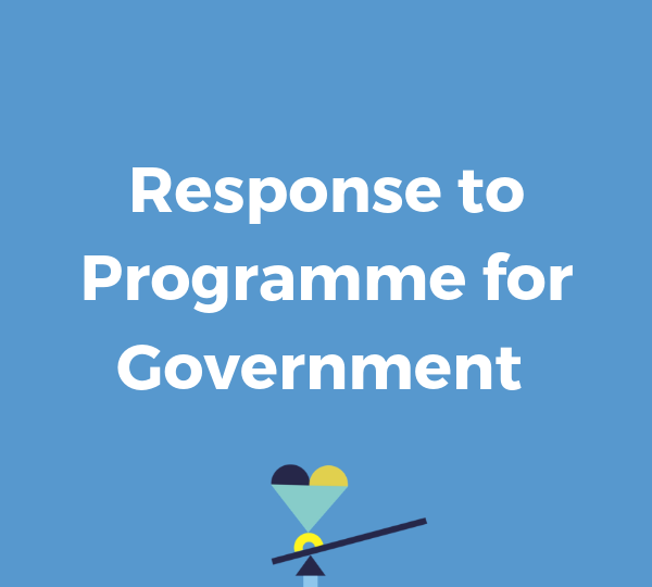 Response to Programme for Government