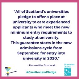 Universities Scotland pledge