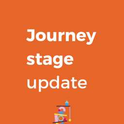 Journey stage update