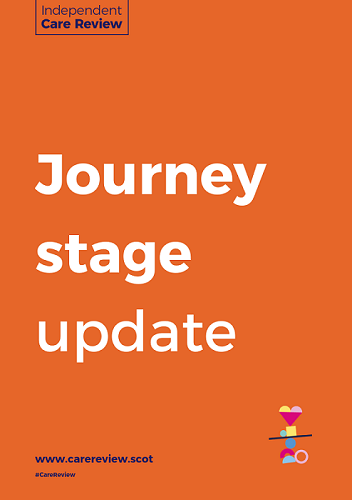 Journey stage update document