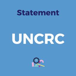 Statement UNCRC